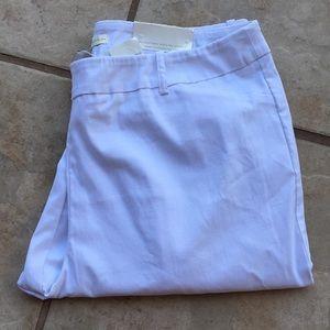 Cato Skinny White Pull on Pant